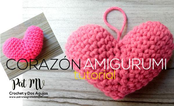 corazón-crochet-ganchillo-amigurumi