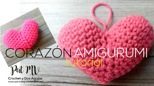 Corazón Crochet Amigurumi ❤️ Tutorial