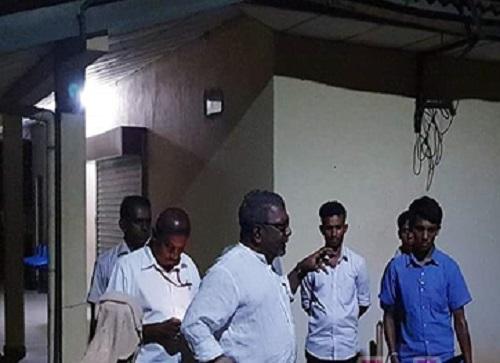 முல்லைத்தீவு வைத்தியசாலைக்கு ஆளுநர் திடீர் விஜயம்!!