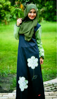 gamis katun terbaru nibras collection