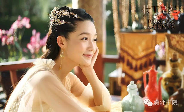 Li Qin in 2017 Chinese time-travel drama Princess Agents