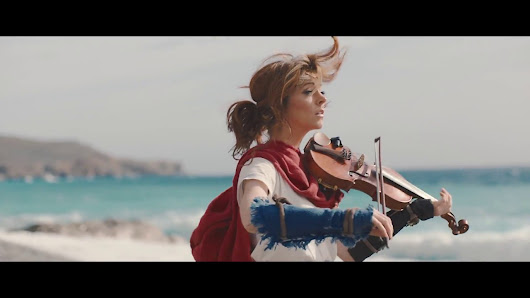 Lindsey Stirling - Forgotten City (Official Music Video) [GabeMODE]