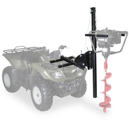 Universal Ice Auger Carrier Mount for UTV & Polaris ... |Ice Auger Mount