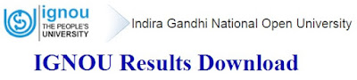 IGNOU Results 2017 Download at ignou.ac.in