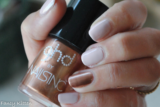Gade - Nude Luxe (80) Nails Inc GHD COPPER