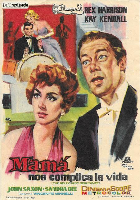 Mamá nos Complica la Vida - Programa de Cine - Rex Harrison - Kay Kendall
