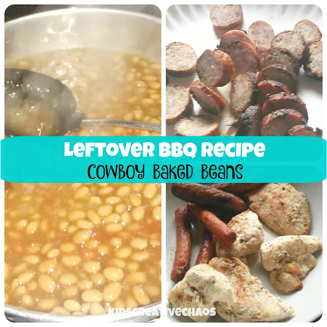 Leftover Barbecue Meat Recipe: Easy Cowboy Baked Beans