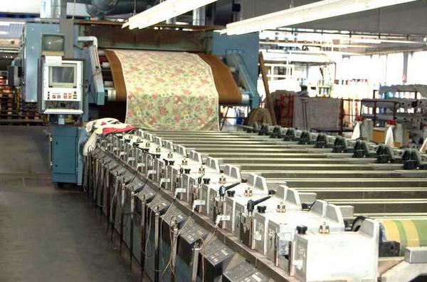 Textile printing process
