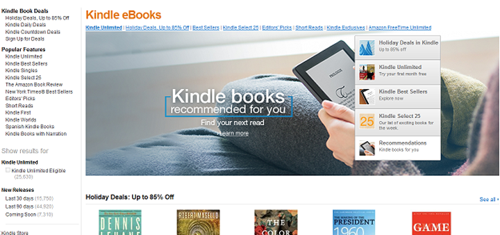 Pendapatkan Pasif Jual Ebook Di Amazon Guna Kindle