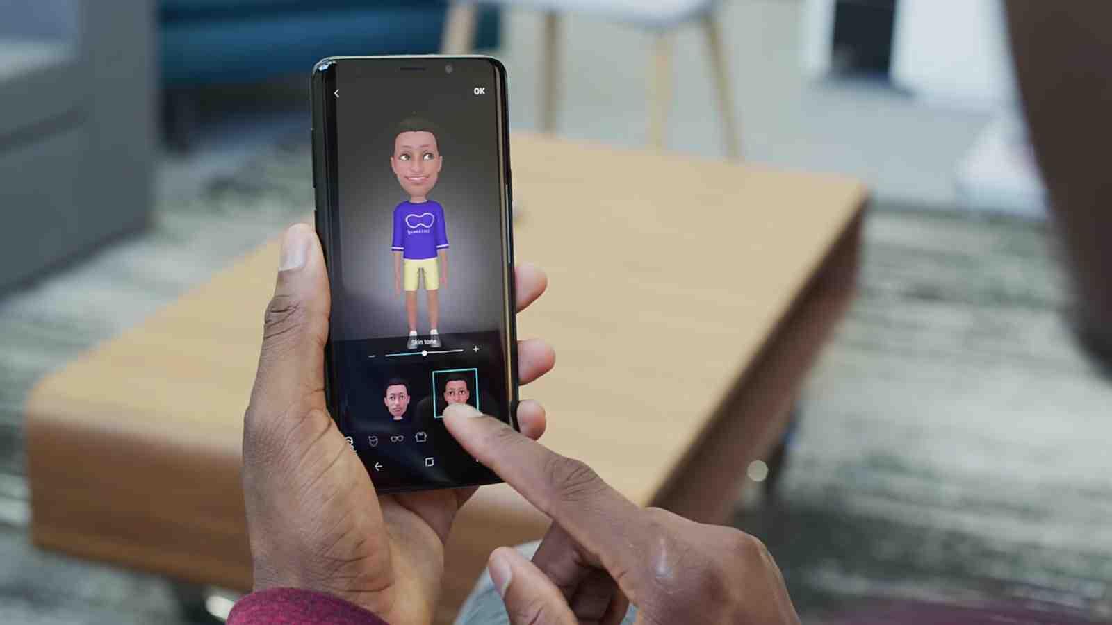 Samsung's AR Emoji