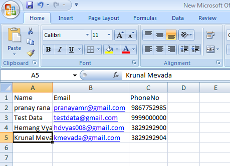 Bulk Insertion of Data Using C# DataTable and SQL server