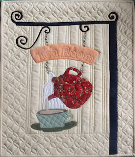 England Souvenir - Tea Time Wall Hanging