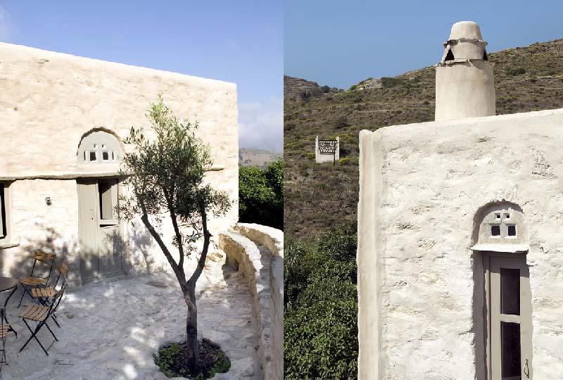 Casa di pietra a Tinos progettata dallo studio Ioannis Exarchou Architecture