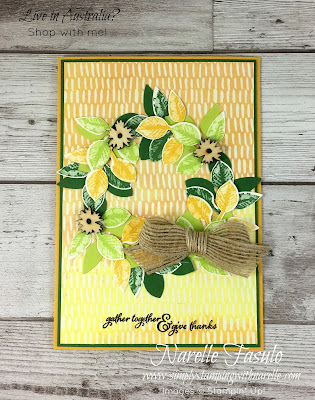 Create stunning Autumn and Fall inspired projects using  the Painted Autumn Product Suite - https://www3.stampinup.com/ECWeb/ItemList.aspx?categoryID=301021&dbwsdemoid=4008228 - Simply Stamping with Narelle
