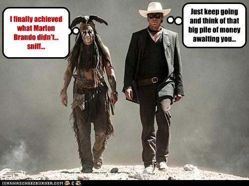The%2BLone%2BRanger speak of the devil april 2016,The Lone Ranger Meme