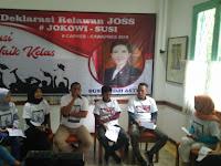 Jokowi-Susi Dideklarasikan Maju di Pilpres 2019
