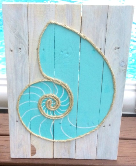 rope art for the wall diy or shop completely coastal