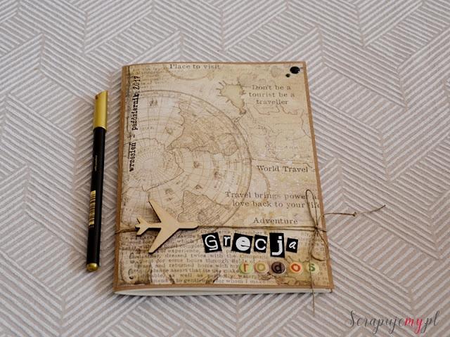 dziennik z podróży, dziennik na wyjazd, notes podróżnika, pamiętnik z podróży,