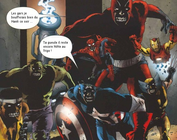 critique marvel zombies