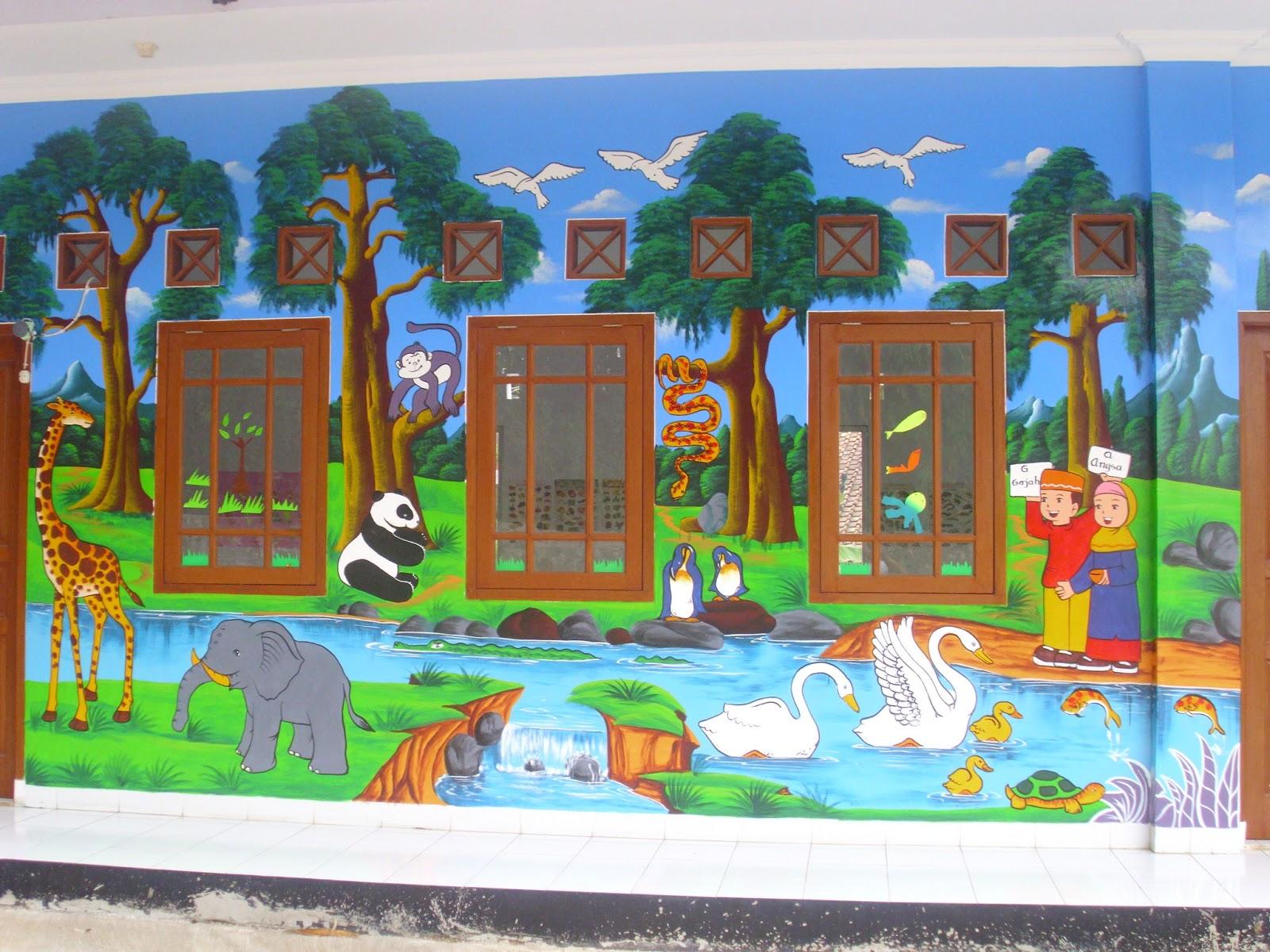 Bahan Cat Lukisan Dinding Sabalukisan