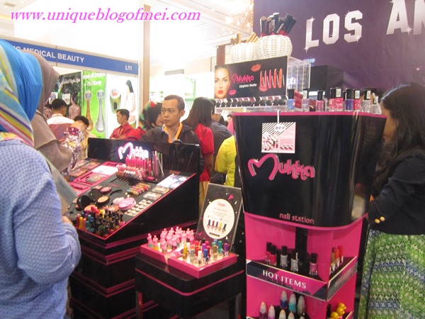 Mukka Kosmetik di JCC Senayan