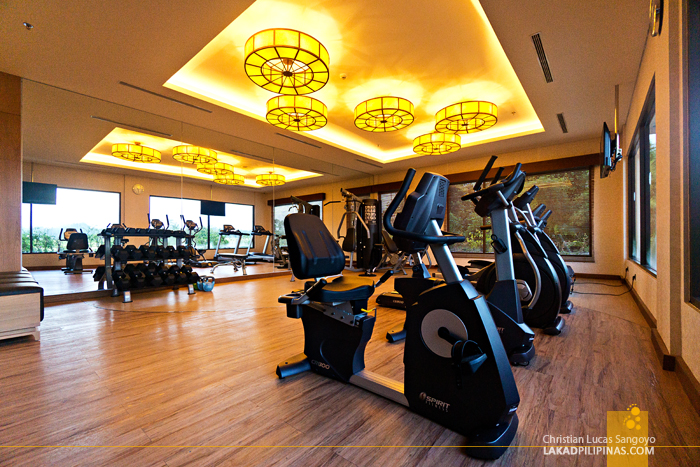 Seres Springs Resort Ubud Bali Gym