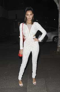 Chloe Goodman and Lauryn Goodman Night Out London
