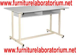 furniture meja laboratorium sekolah