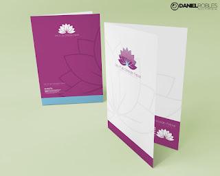 cartão de visita Estética Avançada Identidade Visual