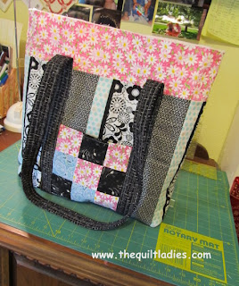 How to make a Quilt Ladies Tote Bag