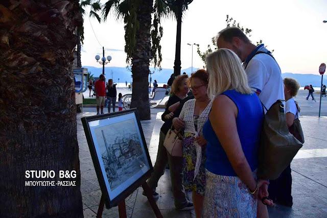 Με έκθεση ζωγραφική ξεκίνησαν οι εκδηλώσεις για την Ναυτική Ναυπλιάδα 2017 (βίντεο)