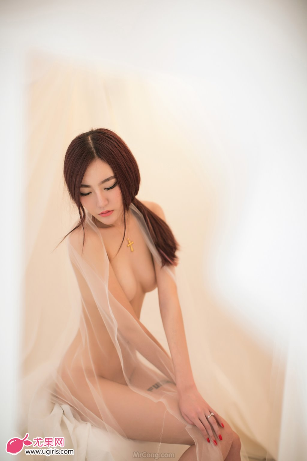 Image MrCong.com-UGIRLS-026-Guo-Wan-Qi-005 in post Người đẹp Guo Wan Qi (郭婉祈) gợi cảm trong bộ ảnh UGIRLS 026