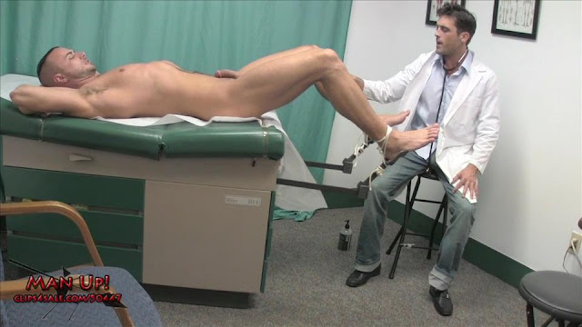 Gay male medical exam fetish