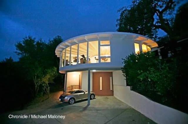 Casa redonda de los años 70 en Álamo, California