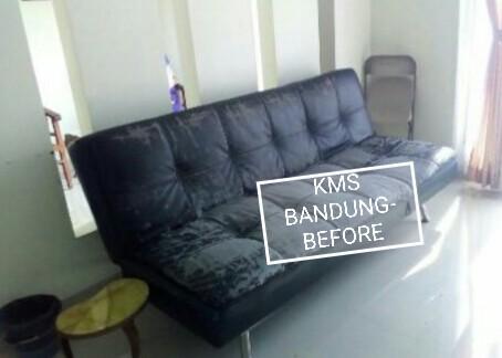 Sofa Bed Lipat Rangka Besi