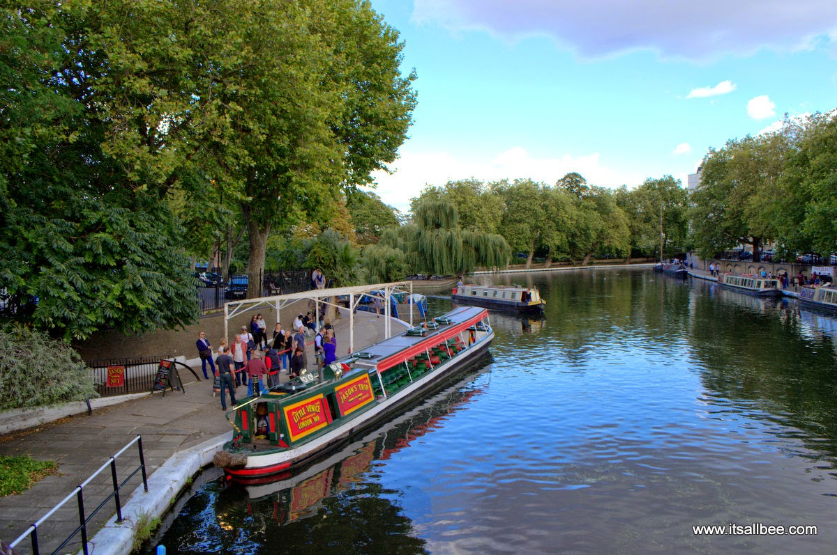 Jasons Boat Tours Venice London Warrick Avenue Paddington