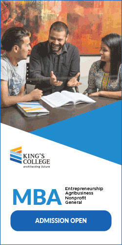 King's College Admission notice