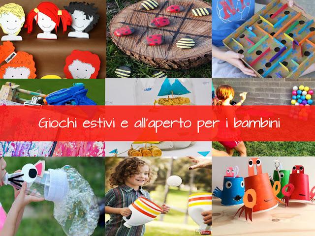 Giochi estivi e all'aperto per i bambini