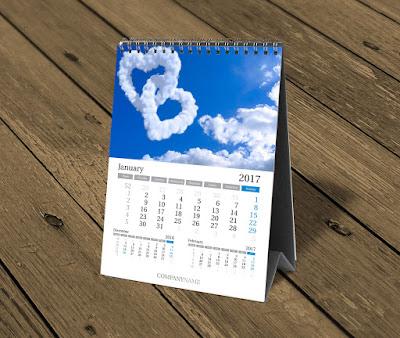 In lịch để bàn - Thế giới lịch Tết