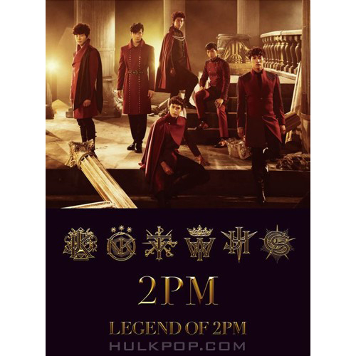 2PM – LEGEND OF 2PM -Japanese Ver.- (AAC M4A)