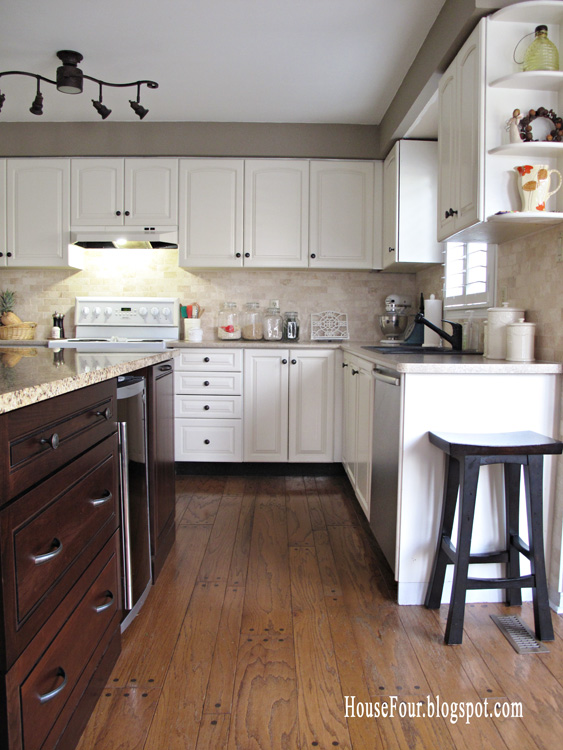submitted by  house four remodelaholic   kitchen renovation  adding an island  rh   remodelaholic com