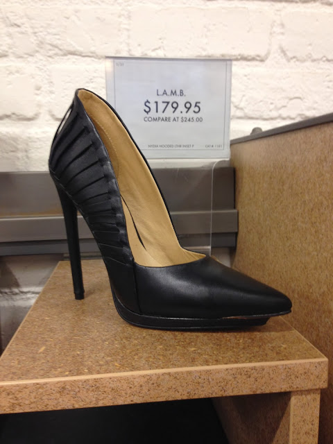 9020ac71af8e I m always drawn to the L.A.M.B. shoes and boots at DSW on 34th Street.