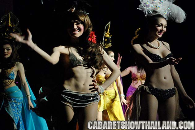 Golden Dome Cabaret Show Ratchada Thailand