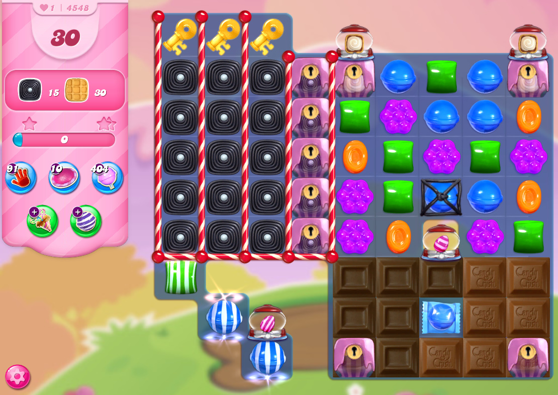 Candy Crush Saga level 4548