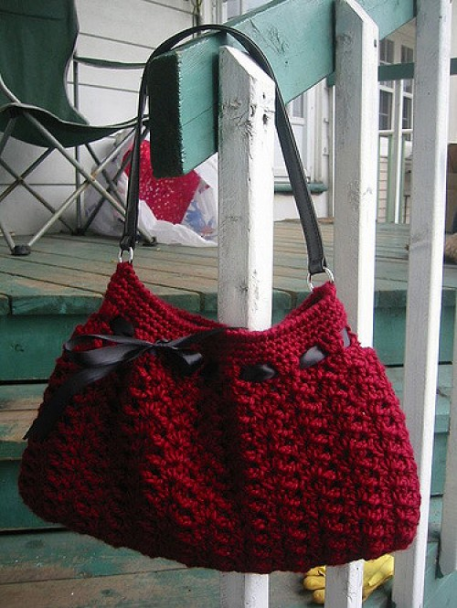 Crochet Hobo Bag - Free Pattern