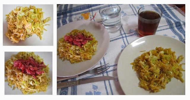alho francês, vegetariano, prato vegan, alho francês à brás, blogue de casal, receita