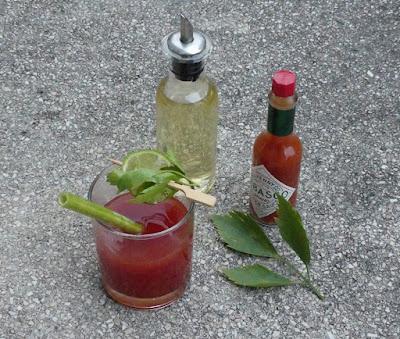 Bloody Mary mit Liebstöckel