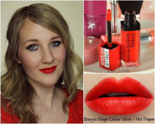 Bourjois Rouge Edition - Hot Pepper lipstick swatch & review