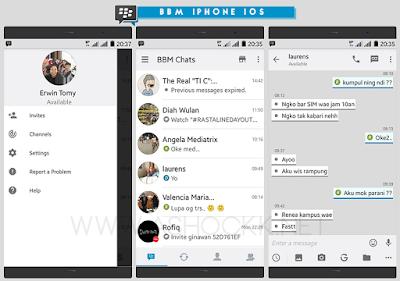 Download BBM Mod White ios V3.0.0.18 APK (Update)