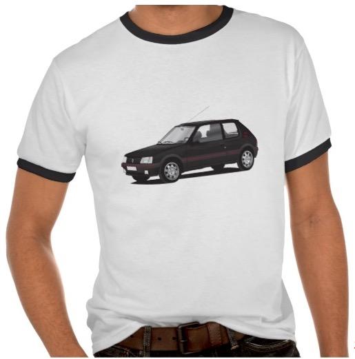 Peugeot 205 GTi t-shirts